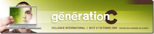 Site Web du Colloque Génération C