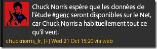 Perle - Chuck Norris